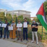 وقفة احتجاجية رفضا للتطبيع في برلين