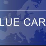 البطاقة الاوروبية الزرقاء